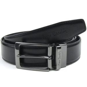 91ac9806a0542 Pasek męski czarny skórzany Pierre Cardin FWJX5 130 cm