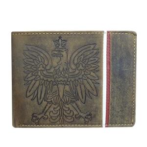 Męski patriotyczny portfel skórzany Always Wild N992A 81d942829bb