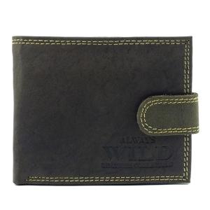 Męski brązowy portfel skórzany Always Wild N251L-MH B d5d452e1059
