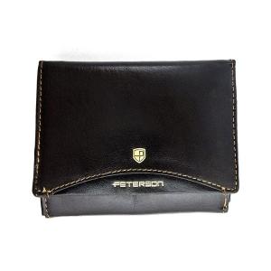 c81868b5871ca Brązowy damski portfel skórzany Peterson 437.01-2-2-1