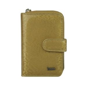 b0d08e7dddefc Złoty damski portfel skórzany Peterson PK 602