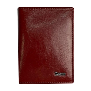 Czarne etui na karty Peterson PL03 RED