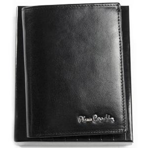 3dfdbf442887b Ekskluzywny portfel męski skórzany Pierre Cardin 520.1 326 C czarny