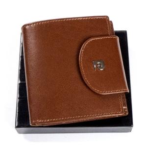 640a9dbd39914 Mały portfel skórzany Pierre Cardin YS507.10 479 brązowy