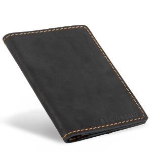 e15da422bb2fc Cienki męski portfel skórzany Brodrene SW01 C