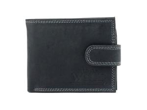 9b856e7069b31 Męski zapinany portfel skórzany Always Wild N251L-MH B