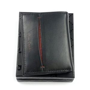 42792d0bd9760 Mały portfel męski skórzany Pierre Cardin TILAK 07 8869 R