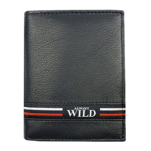 e224ffa91e563 Męski skórzany portfel Always Wild N4-GV B | Sklep Internetowy ...