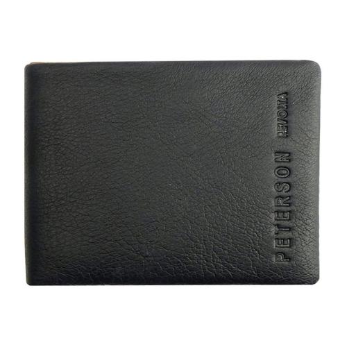 964c5141e5a19 Męski portfel Peterson z wypinaną bilonówką 8121-1