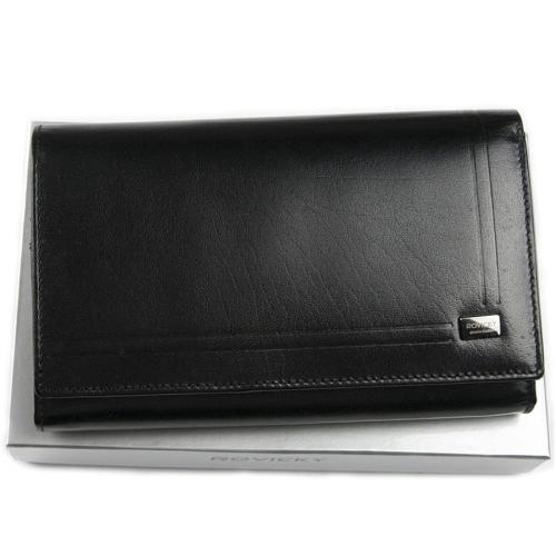 4b49d24debca9 Damski duży portfel skórzany Rovicky CPR 001 BAR C