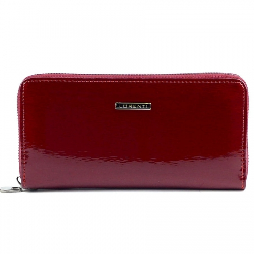 ba5ddd77c2a1e Czerwony lakierowany portfel Lorenti GF 119- SH R | Sklep ...
