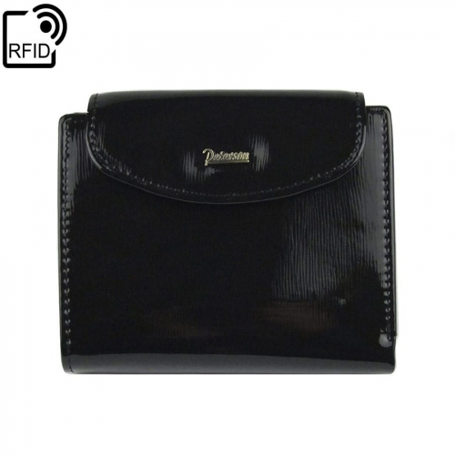 bd914ccaaf32e Mały damski czarny portfel skórzany Peterson BC 405 RFiD | Sklep ...