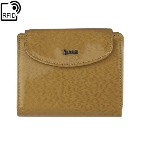 96acd85123ebf Mały damski złoty portfel skórzany Peterson PK 405 RIFiD | Sklep ...