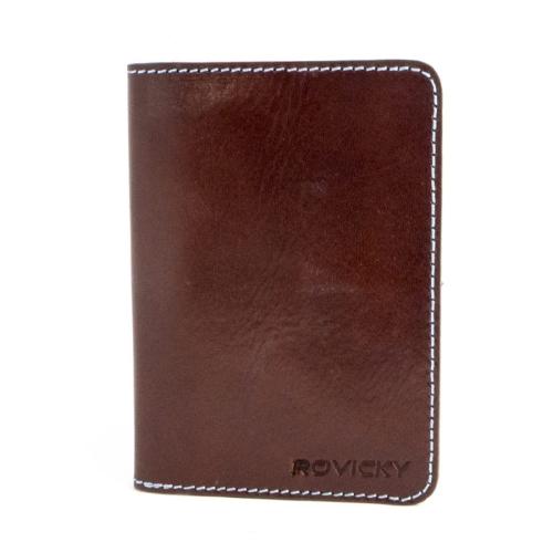 5706ac97d5708 Polecasz  Etui skórzane na karty i banknoty Rovicky Okł. 1 B