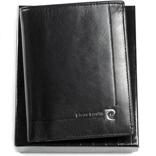 afa2c76a23ad3 Ekskluzywny portfel męski skórzany Pierre Cardin 507.1 326 C czarny ...
