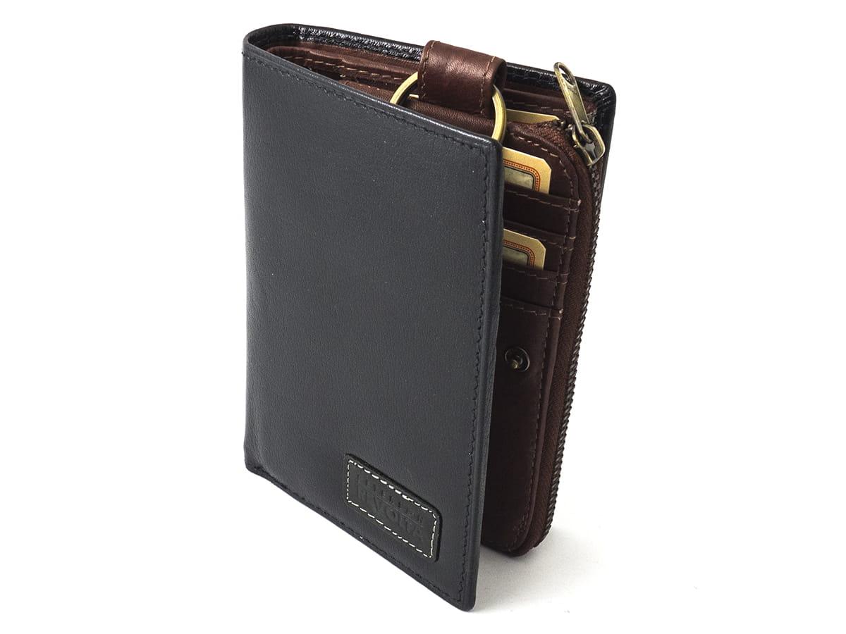83a84dce4b2b1 ... wypinany mały portfel · Nowoczesny uniwersalny portfel skórzany Peterson  dla mężczyzn ...