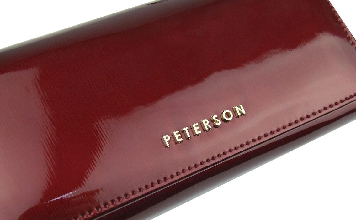 adadc001928a7 ... zabezpieczenie RFID  Duży damski portfel skórzany Peterson ...