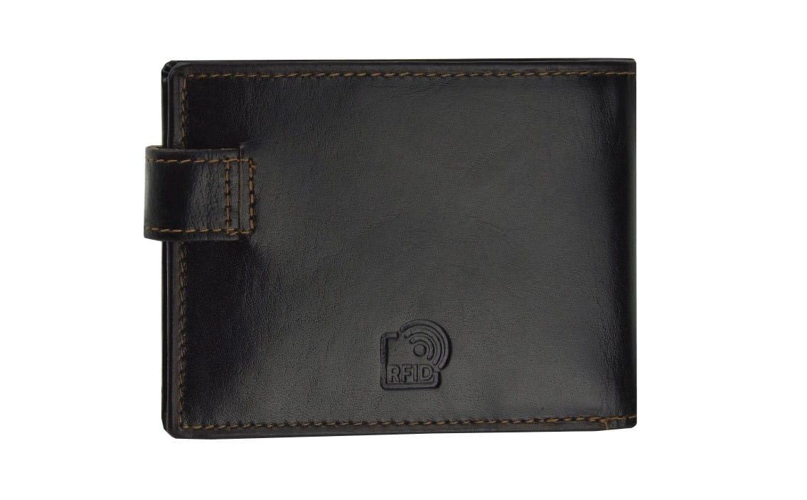 1261c2fb37326 Brązowy męski portfel skórzany Peterson 355-RFID-2-2-1