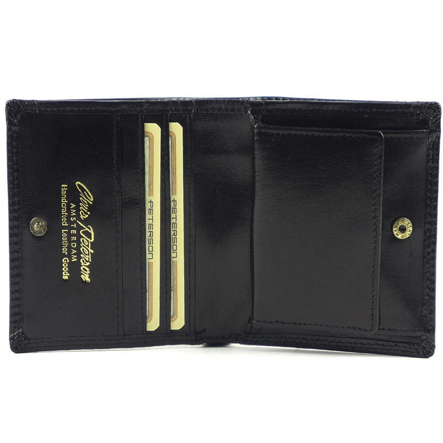 9fe5ed3c53e44 Czarny mały męski portfel Peterson 377-2-1-1 | Sklep Internetowy ...