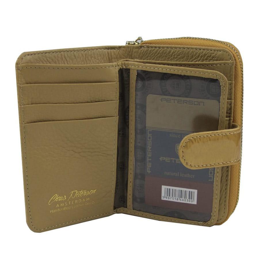 1550e7295f158 Złoty damski portfel skórzany Peterson PK 602 | Sklep Internetowy ...