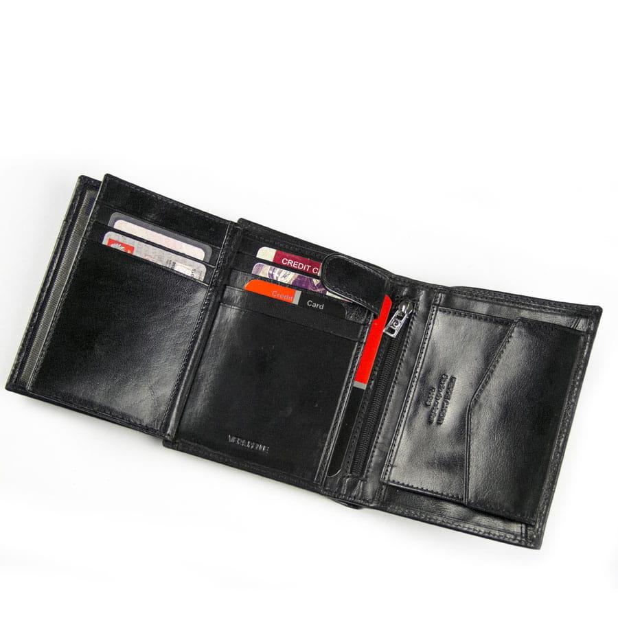 5cc70d9e428db Ekskluzywny portfel męski skórzany Pierre Cardin 507.1 326 C czarny ...