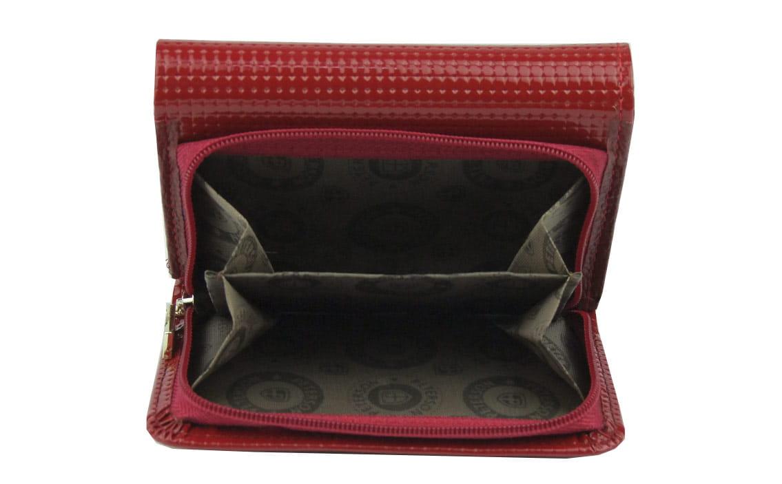 aff015535eefb Czerwony mały damski portfel skórzany Peterson PD 455 | Sklep ...