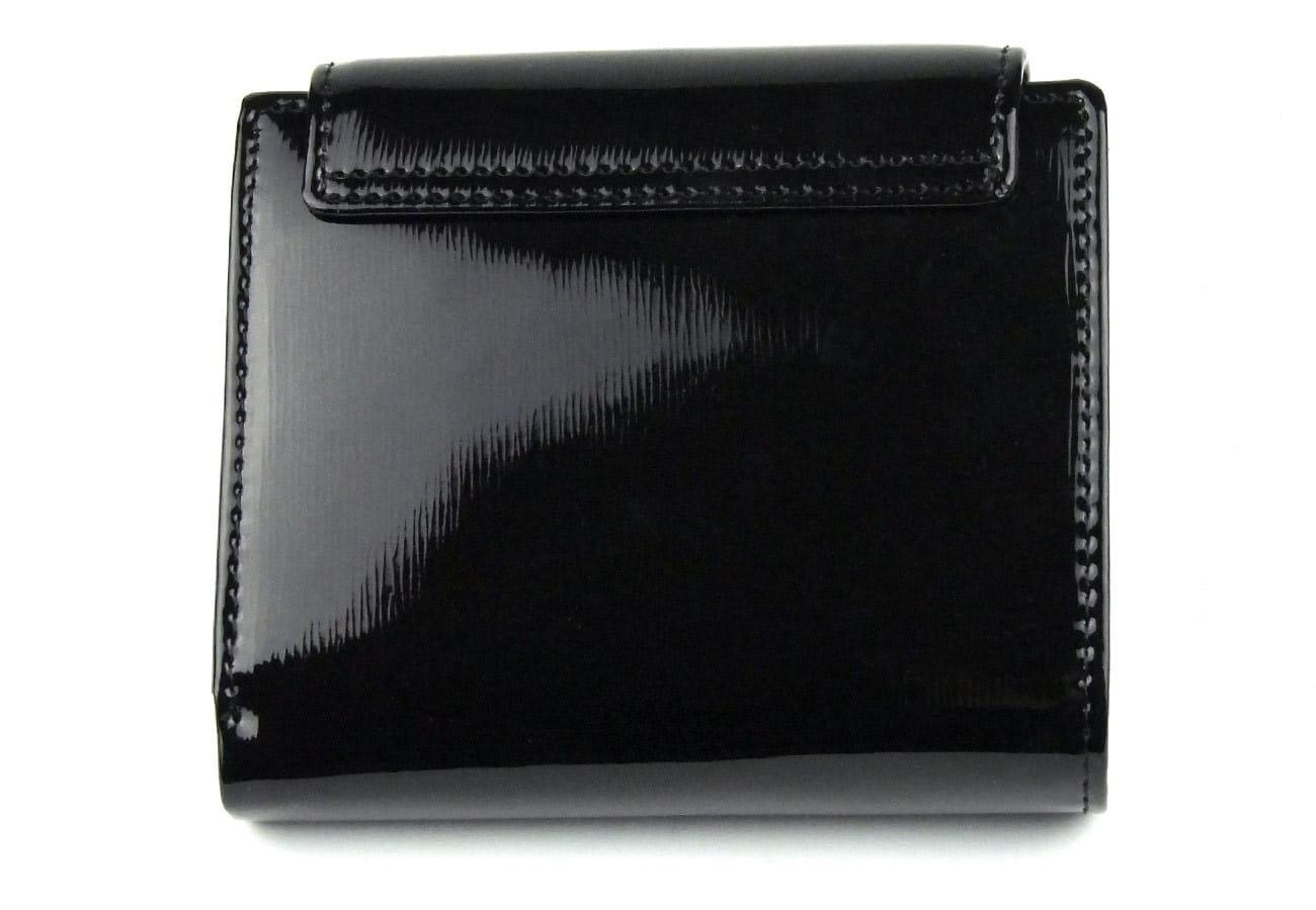 19faaf67a69bc Mały damski czarny portfel skórzany Peterson BC 405 RFiD