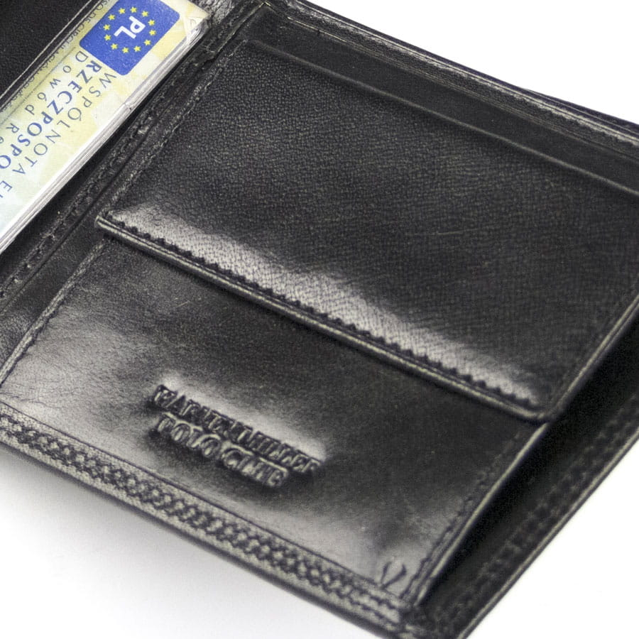 3e949001fdb6c ... czarny Harvey Miller 3820 292E · Męski portfel skórzany z miejscem na  dowód rejestracyjny pojazdu · Zapinany męski portfel skórzany · mały męski  portfel ...