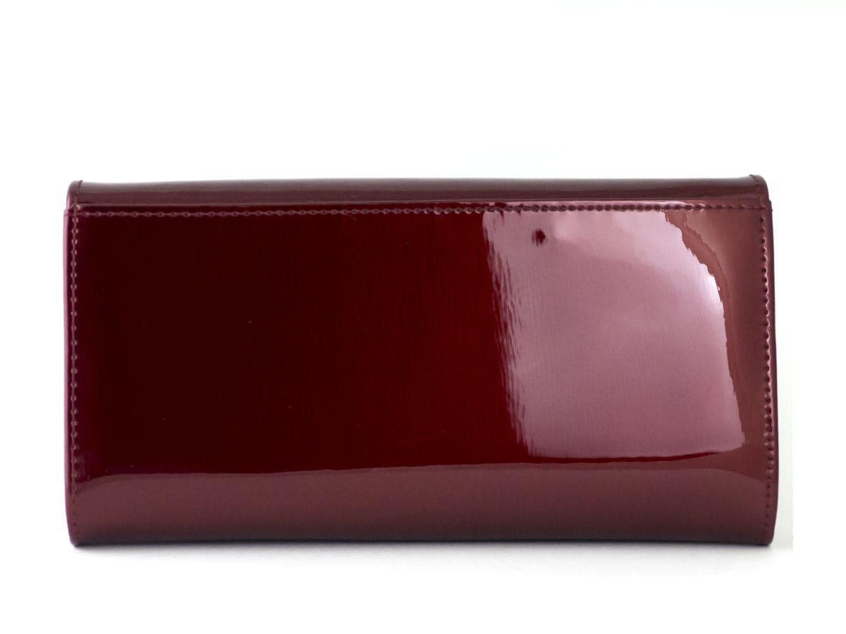 79572b802e056 Czerwony lakierowany damski portfel skórzany Peterson BC 411 R ...